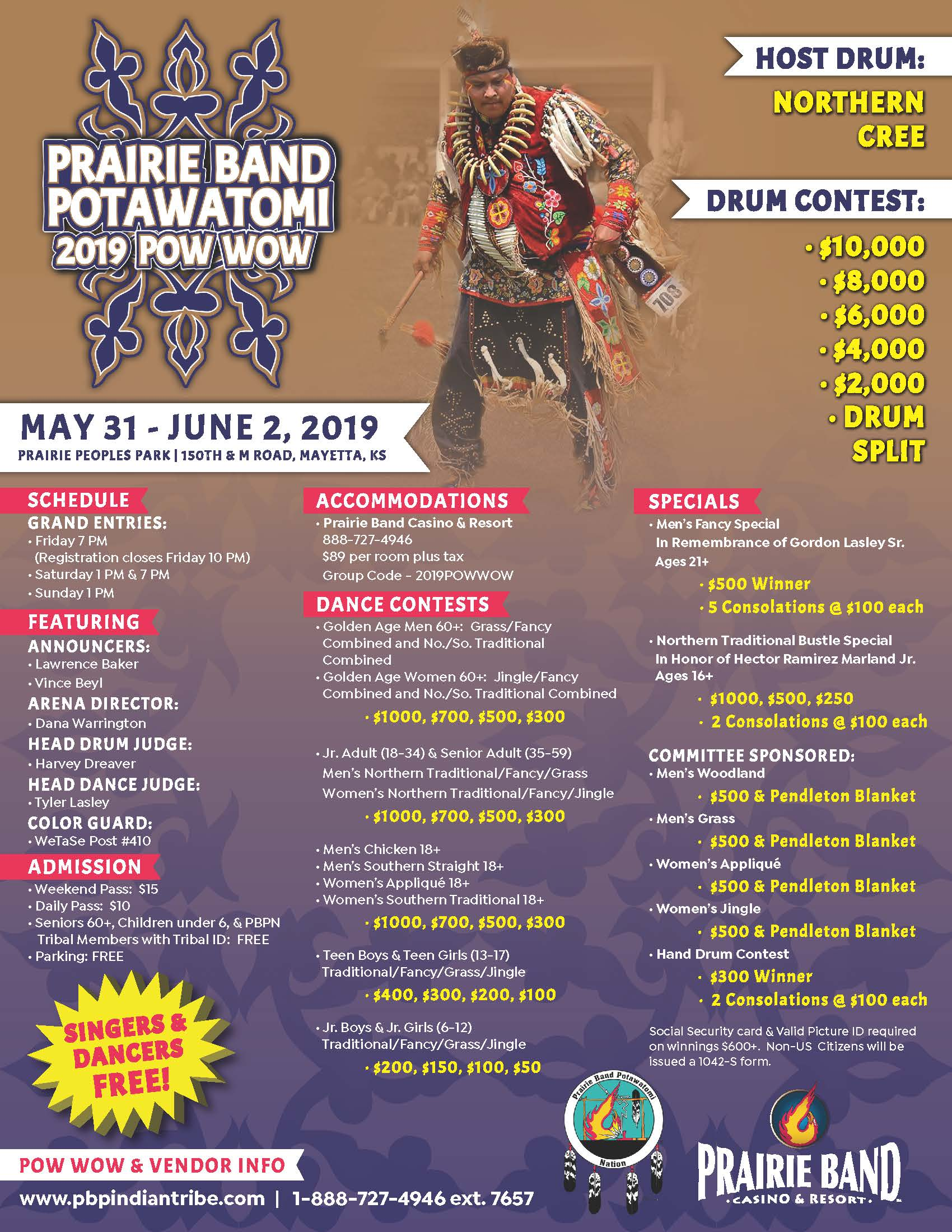 photo relating to Man in the Arena Free Printable identified as 2019 PBPN Powwow Prairie Band Potawatomi Country
