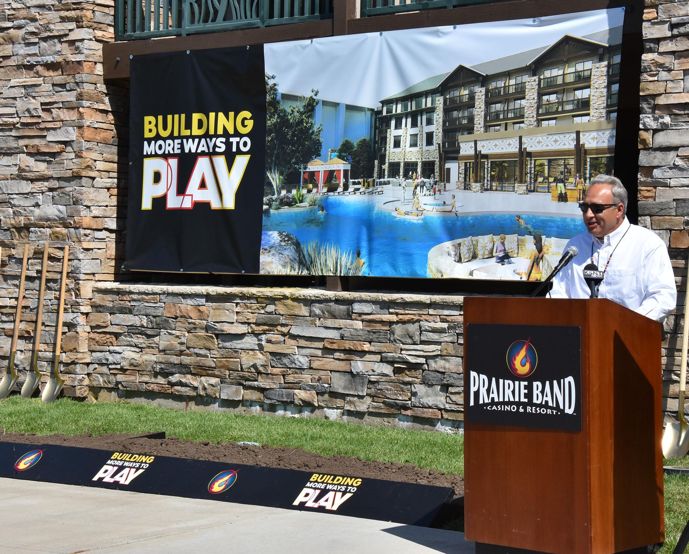 prairie band casino remodel renovation expansion